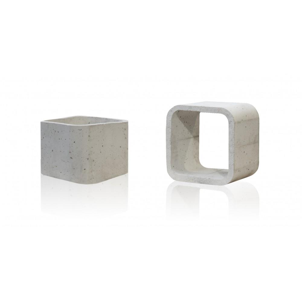 Stolik betonowy szary kubik duży - zdjęcie nr 5