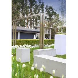 GARDENPARK XL Ławka betonowa