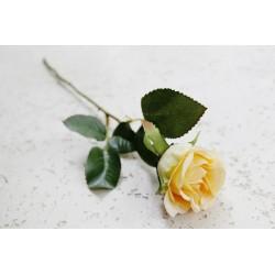 Róża gałązka kremowa 50 cm
