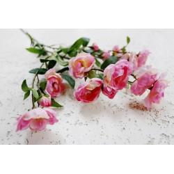 Róża dzika gałązka różowa 75 cm