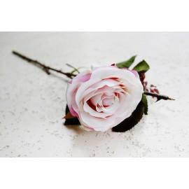 Róża gałązka 50 cm różowa