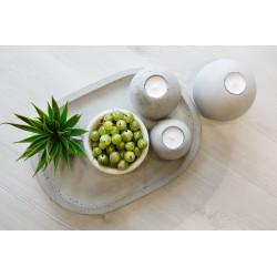 Kolekcja świeczników betonowych Avola