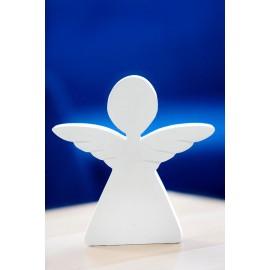 figura betonowa biała anioł z betonu architektonicznego
