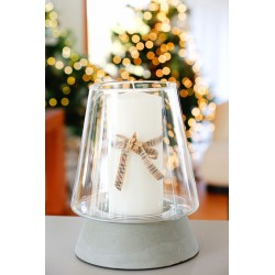 Lampion Santa mały