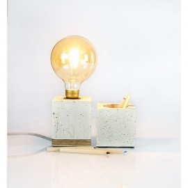 Lampy betonowe do ogrodu